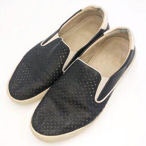 Johnston & Murphy Leather Slide On Sneakers